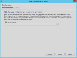 scom sql server instance RS