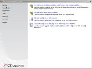 sql server setup 1