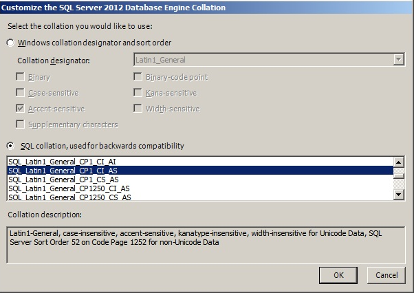 How to change collation in sql server 2016 after installation